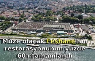 Müze olacak Feshane'nin restorasyonunun yüzde...