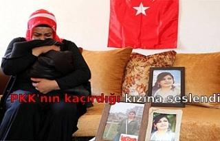 PKK'nın kaçırdığı kızına seslendi: Gel...