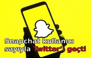 Snapchat kullanıcı sayıyla Twitter'ı geçti