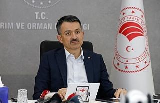 Bakan Pakdemirli: İzmir yangını kontrol altına...