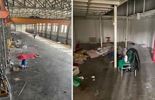 Çekler karşılıksız çıktı, boşaltılan fabrikayla...