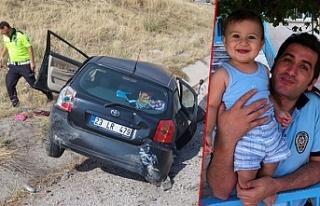 Şarampole devrilen otomobildeki polis memuru öldü,...