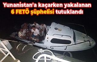Yunanistan'a kaçarken yakalanan 6 FETÖ şüphelisi...