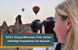 '2021 Dünya Mirasları Foto Safari' etkinliği...