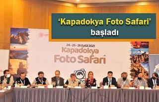 'Kapadokya Foto Safari' başladı