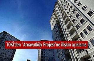 TOKİ'den açıklama: Arnavutköy proje alanı tarımsal...