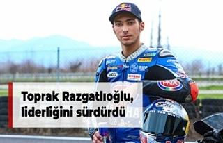 Toprak Razgatlıoğlu, liderliğini sürdürdü