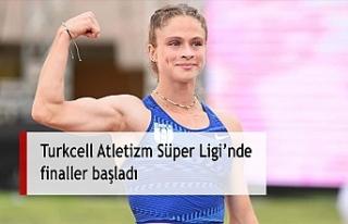 Turkcell Atletizm Süper Ligi'nde finaller başladı