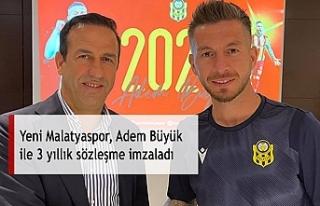 Yeni Malatyaspor, Adem Büyük ile 3 yıllık sözleşme...