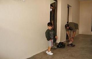 5 yaşındaki Muhammet protez bacağına kavuştu