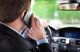 8 milyon araç denetlendi; 125 bin sürücüye telefonla...