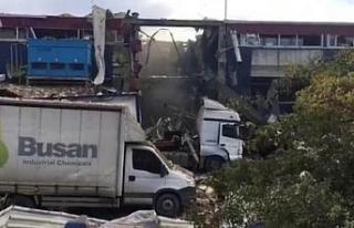 Bursa'da fabrikada yaşanan patlamayla ilgili...