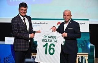 Bursaspor ve Okyanus Koleji arasında iş birliği...