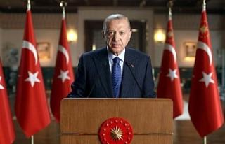 Cumhurbaşkanı Erdoğan, Hollanda'daki UID yöneticileri...