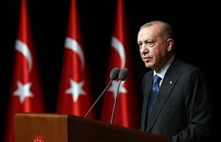 Cumhurbaşkanı Erdoğan: Tekrar tekrar sınava girmeye...