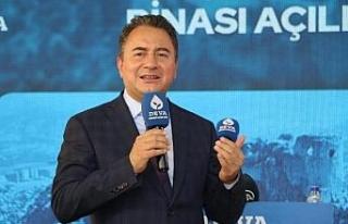 DEVA Partisi Genel Başkanı Babacan, Adana'da