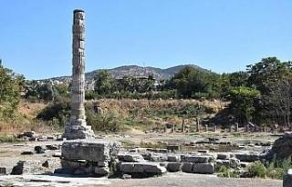 Dünya harikası 'Artemis' tarihi dokusuna...