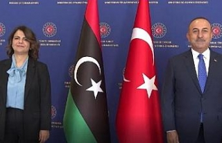Foreign Minister Cavusoglu met with his Libyan counterpart...