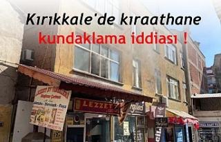 Kırıkkale'de kıraathane kundaklama iddiasına...