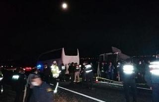 Nevşehir'de iki otobüs çarpıştı: 27 yaralı...