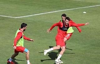 Sivasspor'da Antalyaspor maçı hazırlıkları...