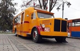 Sultanahmet'te kamyondan dönüştürülen nostaljik...