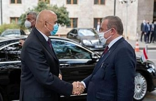 TBMM Başkanı Şentop, Tacikistanlı mevkidaşını...