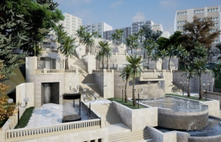 Yıldırım'ın vizyon projesi 'Sular Vadisi' büyülüyor