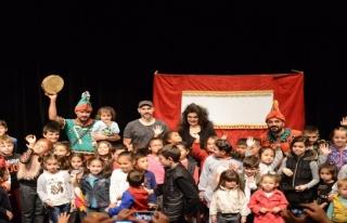 Çocuklara tiyatro yıldırım'da açılıyor