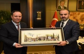 Bursa'da Batı Trakya dostluk ziyareti