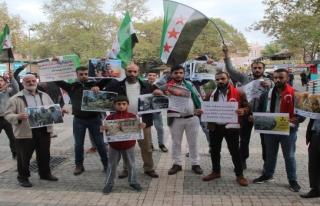 Suriyelilerden İdlib sevinci