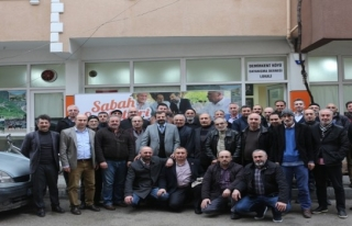 Gürsu Belediye Başkanı Mustafa Işık esnafla buluşuyor