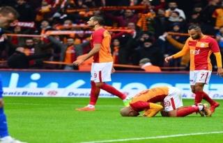 Terimli Galatasaray 5'te 5 yaptı