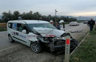Korkunç kaza güvenlik kamerasında
