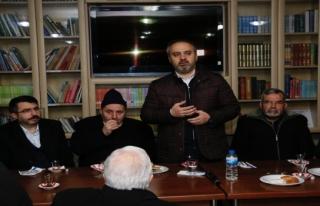 AK Parti il teşkilatından birlik ve beraberlik yemeği