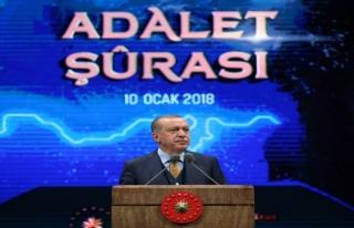 Cumhurbaşkanı Erdoğan 'İnsanlık suçları hep...