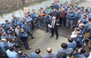 Türk Metal Sendikası grevde