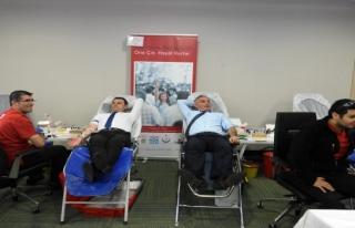 Uedaş'tan  Kan Bağışı
