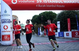 Maraton'da heyecan dorukta