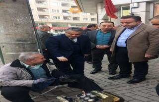 Başkan Salman Bursa'nın her köşesinde halk ile...