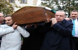 Erdoğan vefa borcunu ödedi
