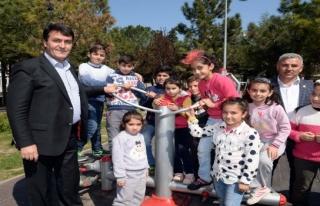 Osmangazi'den 1 yılda 33 park