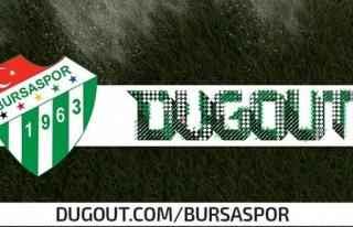 Bursaspor, Dogout'a katıldı