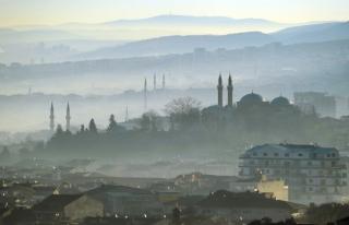 Bursa'nın hava kirliliği standartların 5 kat üzerinde