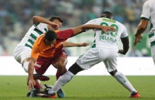 Bursaspor'un fizik  gücü düşük kaldı
