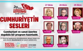 Ataşehir 29 Ekim Cumhuriyet Bayramı'na hazır