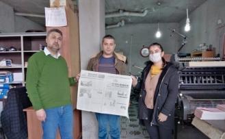 Öğrenciler Bulanık'taki gazetecilerle röportaj yaptı