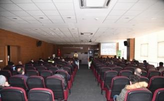 Pursaklar'da belediye personeline madde bağımlılığı semineri