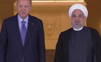 Çankaya'da Suriye zirvesi: Erdoğan Ruhani ile görüştü