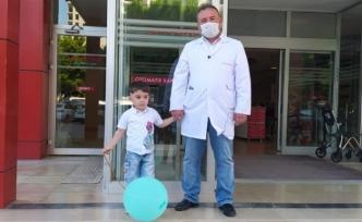 4 yaşındaki Muhammed artık duyup konuşacak